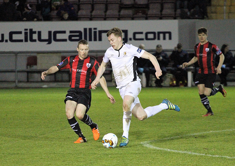 Garry Comerford (Longford Town) (Credit: Travels with the Blues)
