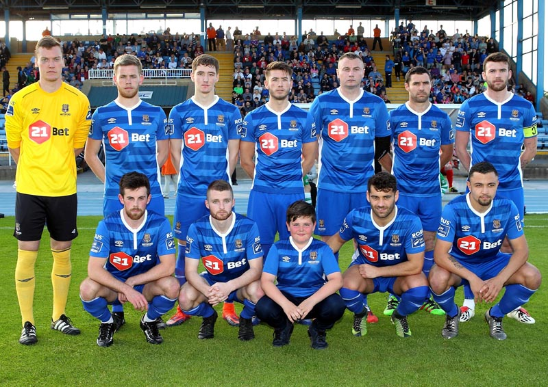 Waterford FC team v Cabinteely