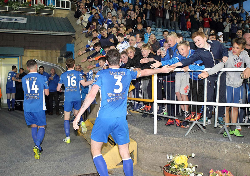 Waterford FC crowd RSC