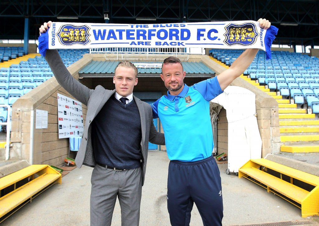 Waterford FC Sign Noel Hunt
