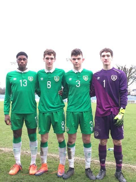 Our Republic of Ireland Schoolboys representation played a big role in today's 2-1 win over their Welsh counterparts in the Centenary Shield
