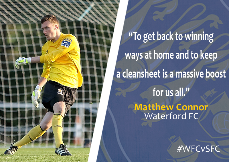 Waterford FC Matthew Connor (Shelbourne 05-05-2017)