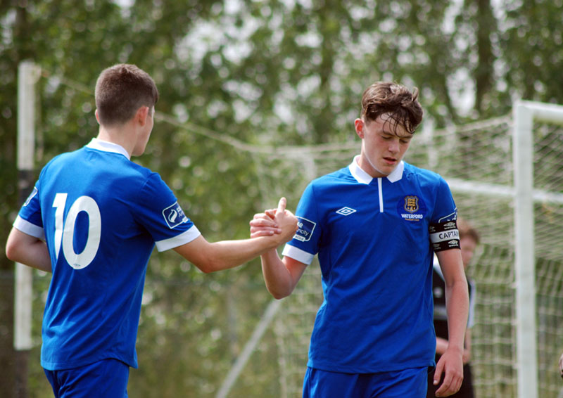 Colm Whelan Jack Larkin Waterford FC U17