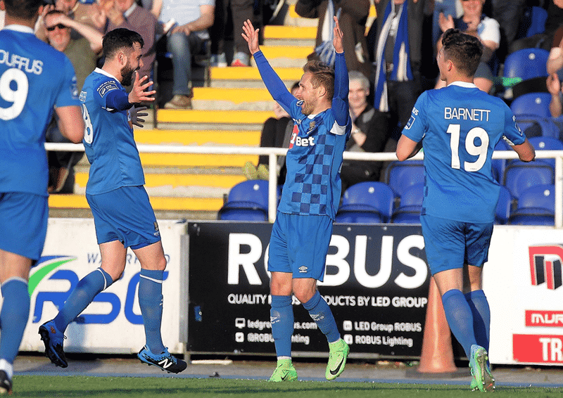 Sander Puri celebration v Derry City Credit Noel Browne