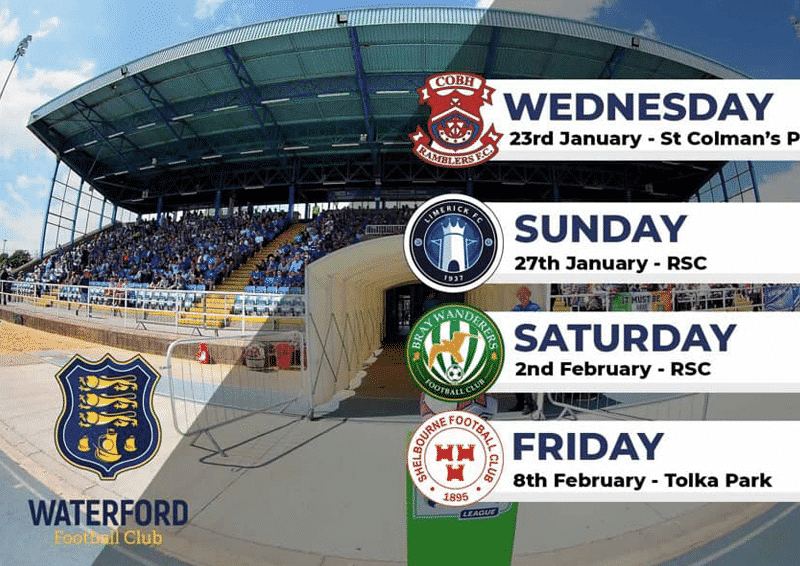 Waterford FC pre-season