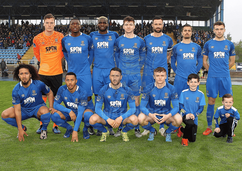 Waterford FC XI v Dundalk Credit Noel Browne