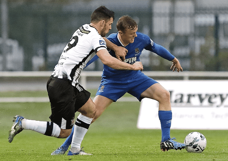 JJ Lunney Waterford FC v Dundalk Credit Noel Browne
