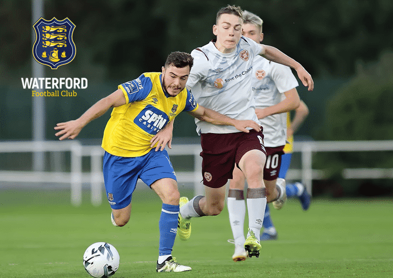 Cory Galvin Waterford FC V Hearts Credit Noel Browne